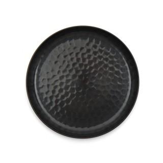 Petit plateau rond en cuivre bronze japonais