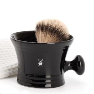 Bol à raser Mühle en porcelaine noir