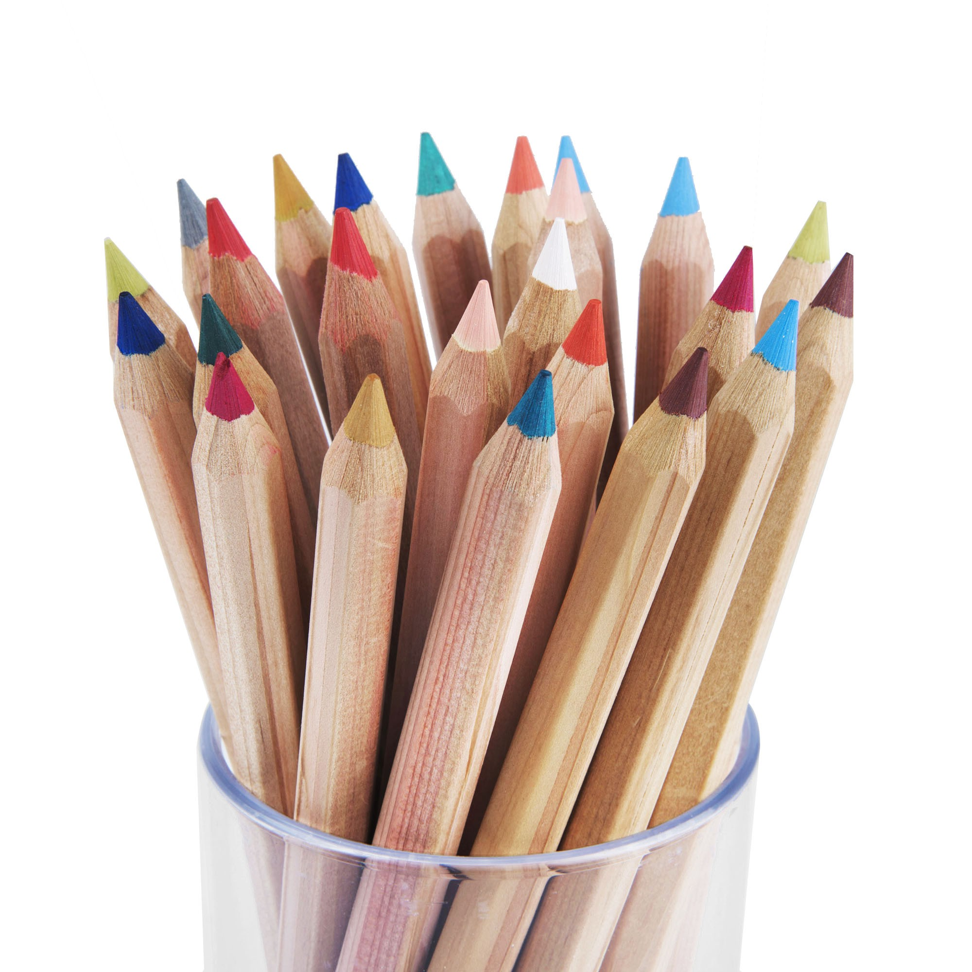 Gros crayons de couleur x 24 made in germany - Tuto trousse crayons de couleur ...