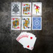Jeu de cartes Tally Ho circle Poker 9