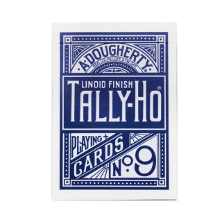 Jeu de cartes Tally Ho circle Poker bleu