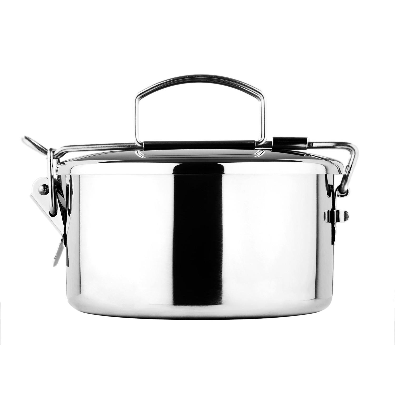 lunch box inox zebra 12 cm masterwork. Black Bedroom Furniture Sets. Home Design Ideas