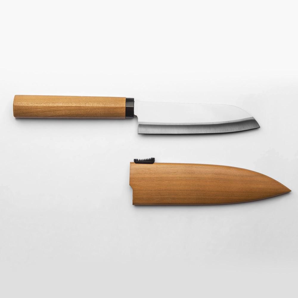couteau mini santoku japonais masterwork. Black Bedroom Furniture Sets. Home Design Ideas