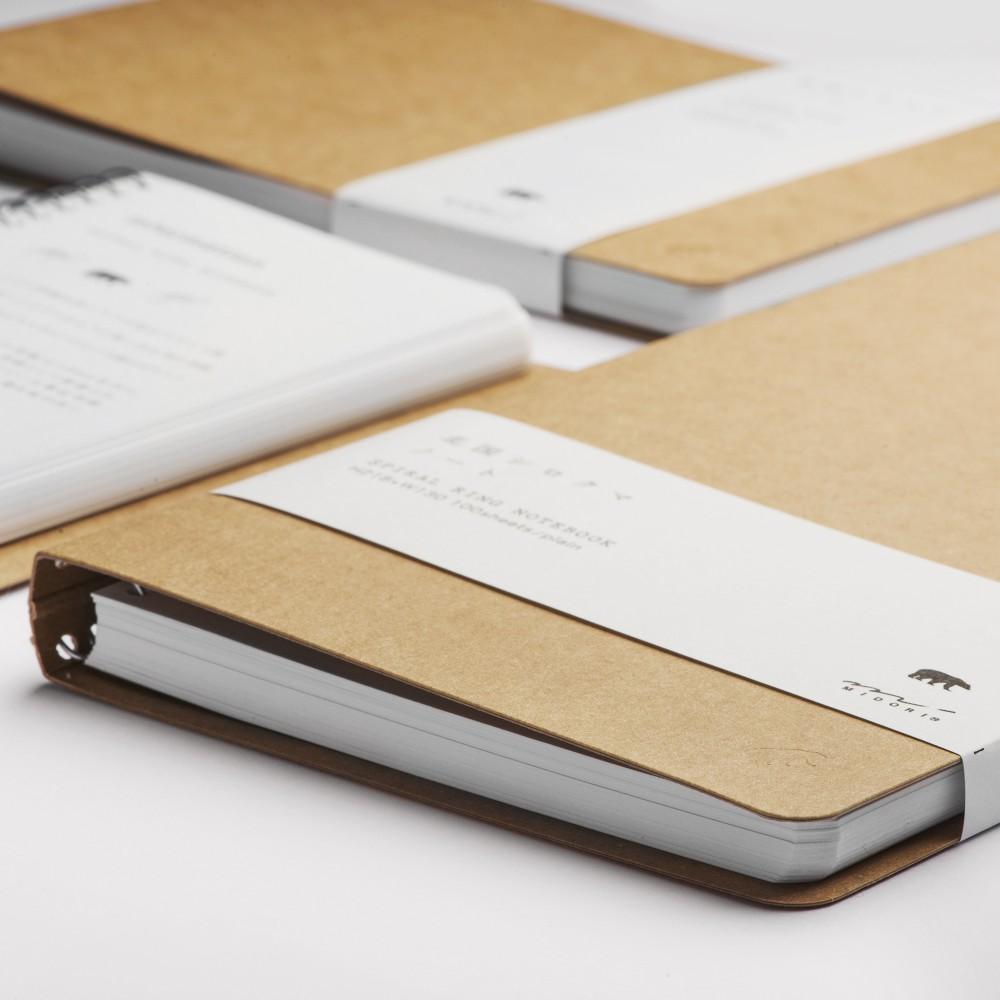 Carnet Page Blanche : carnet midori polar bear spirales pages blanches ~ Teatrodelosmanantiales.com Idées de Décoration
